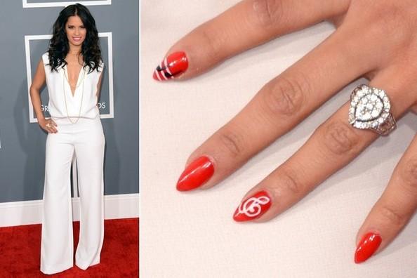 Rocsi Diaz-Nail Art-Grammys-Fashion-thejasminebrand