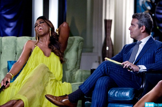 Kenya Moore Apologizes For Threatening A Very Pregnant Phaedra Parks, But Insists Shes Still A Liar