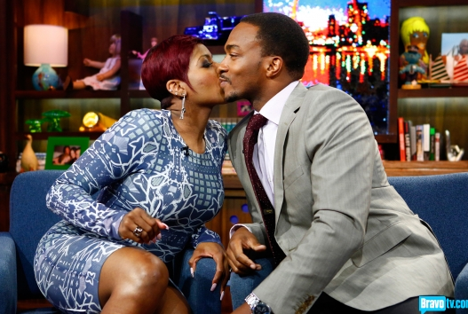 [WATCH] Fantasia Sings, Spanks & Twirks For Andy Cohen on 'Watch What Happens Live!'