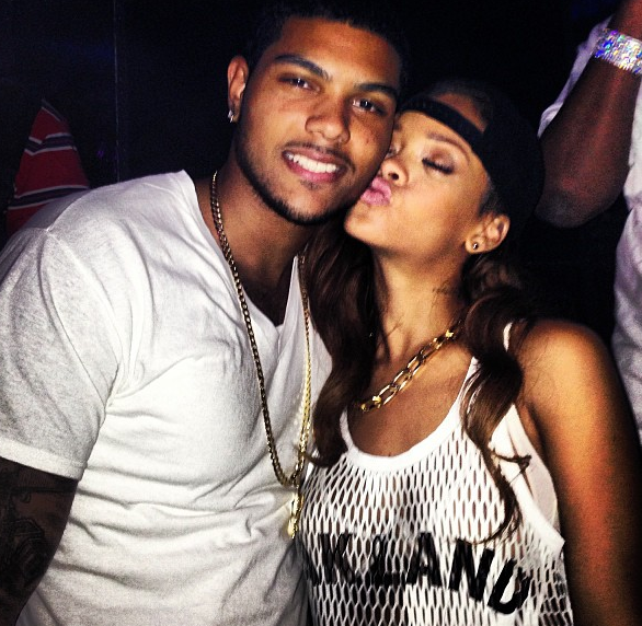 Innocent Fun or Inappropriate? Rihanna Caught Flirting In the Club With Mystery Man