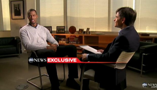 [WATCH] NBA Baller Jason Collins, Grants First Interview Since 'Coming Out' Announcement