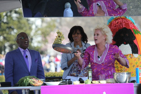 al roker-flotus-chef anne burrell-easter egg roll-the jasmine brand