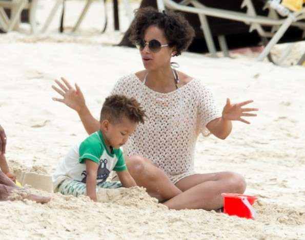 alicia keys-baby egypt-bahamas 2013-the jasmine brand