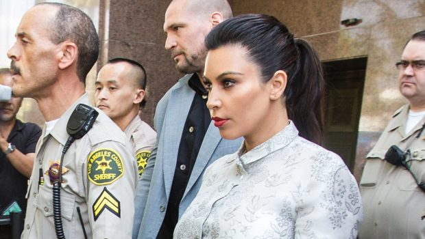 Kris Humphries Skips Court, While Kim Kardashian Flanks Herself With Security