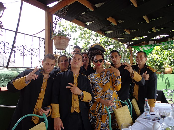 beyonce dueces cuba wait staff-the jasmine brand