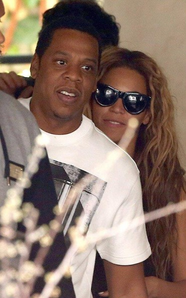 beyonce-jayz-lunch in paris-the jasmine brand