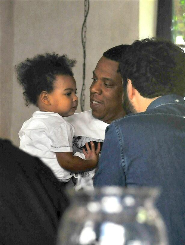 blue ivy carter-lunch with jay-z-in paris-the jasmine brand