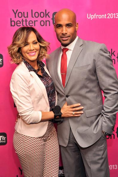 boris khodjoe and wife-BET NYC Upfront 2013-the jasmine brand