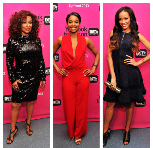 Gabrielle Union, Nelly, Selita Ebanks and Other Celebs Attend BET Upfronts + Chris Tucker To Host BET Awards