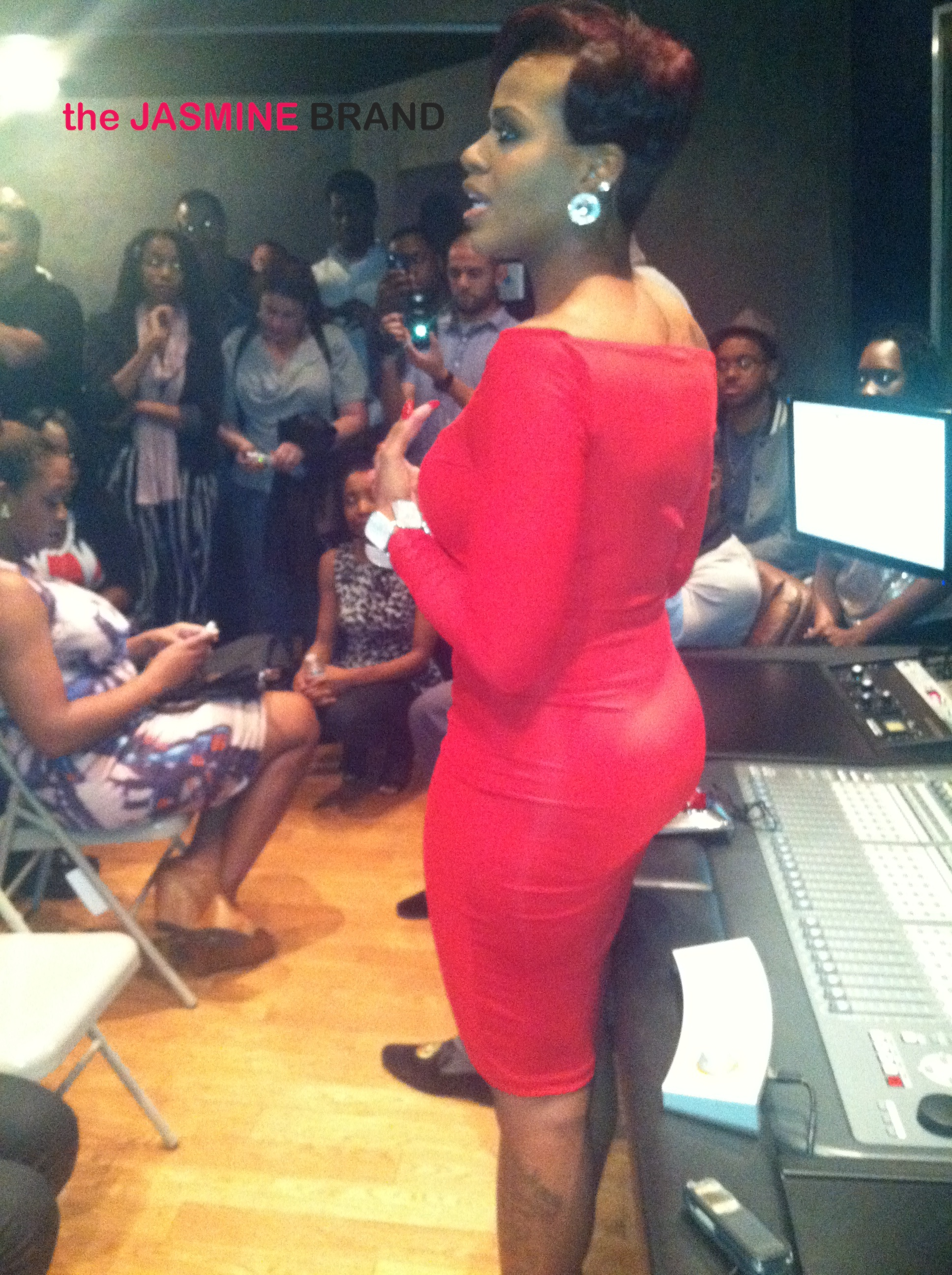 ... Williams, Amber Riley Attend Fantasia's Album Listening Session