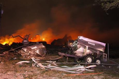 Fertilizer Explosion Shakes Small Texas Town, 5 to 15 People Estimated to Have Died