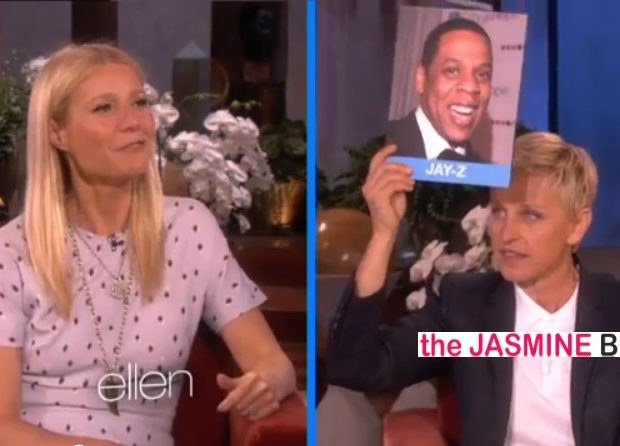 [WATCH] Gwyneth Paltrow Gives Her Best Jay-Z & Kanye West Impersonation