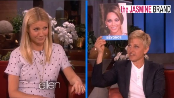 gwyneth paltrow-impersonates-beyonce-ellen-the jasmine brand