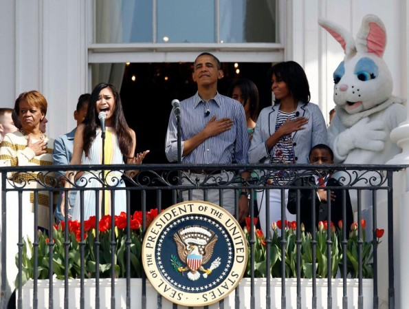 jessica sanchez-national anthem-easter egg roll 2013-the jasmine brand