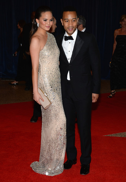 john legend-chrissy teigen-white house correspondents dinner-the jasmine brand