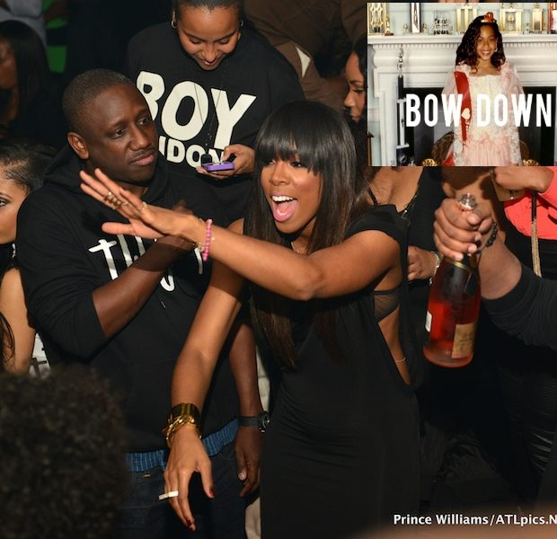 Kelly Rowland Defends Beyonce's Bow Down: 'She Can Express Herself However She Wants' + Kelly Takes Over ATL's 'Compound' Club