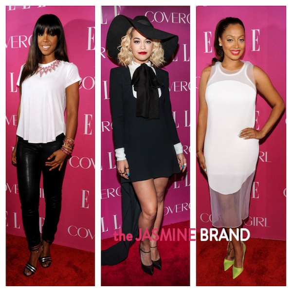 Kelly Rowland, Lala Anthony, Rita Ora Shine At ELLE's Women in Music Celebration