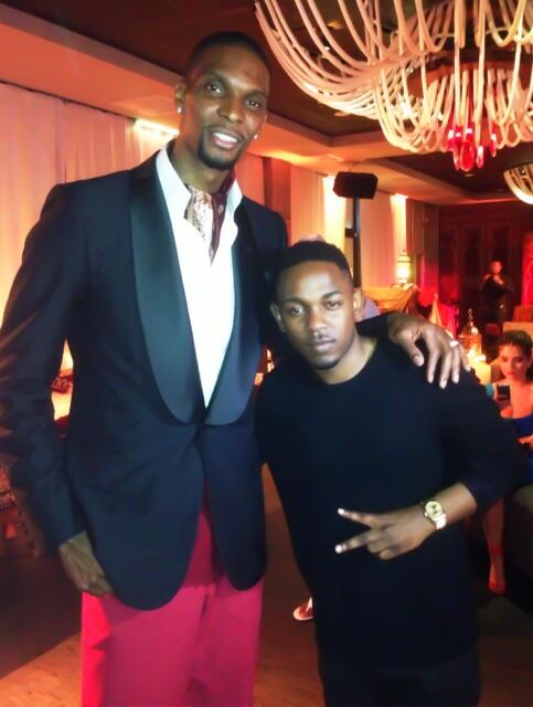 kendrick lamar-christopher bosh birthday bash-house robbed-the jasmine brand