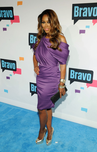 kenya moore-andy cohen bravo-ny up front party-the jasmine brand