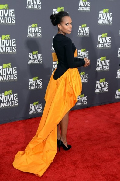 kerry washington-fashion-mtv movie awards 2013-the jasmine brand
