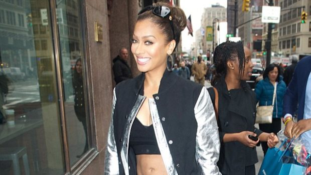 Washboard Abs In the City: Lala Anthony Shows Fitness Results for Photogs
