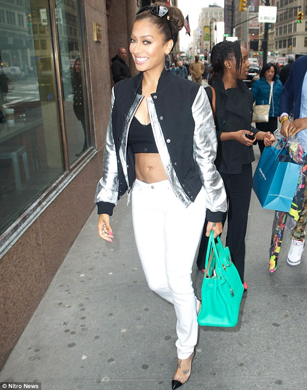 lala anthony-abs in nyc-the jasmine brand
