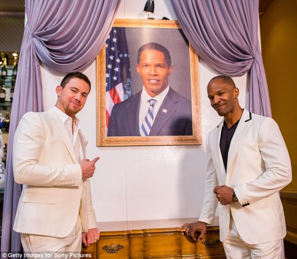 main-white house down-5th annual summer of sony-jamie foxx-channing tatum-the jasmine brand