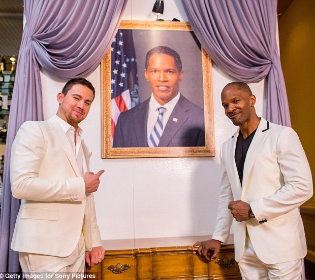 Jamie Foxx, Channing Tatum Take Over Cancun With 'White House Down' Party