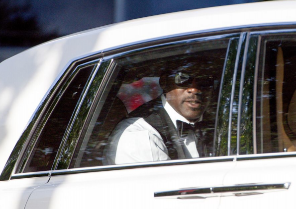 michael jordan-marries yvette-largest wedding tent in history-the jasmine brand
