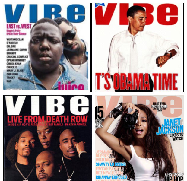 Vibe Sold to Spin Media + Magazine to End Printing In 2013