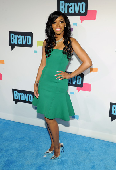 porsha stewart-andy cohen bravo-ny up front party-the jasmine brand