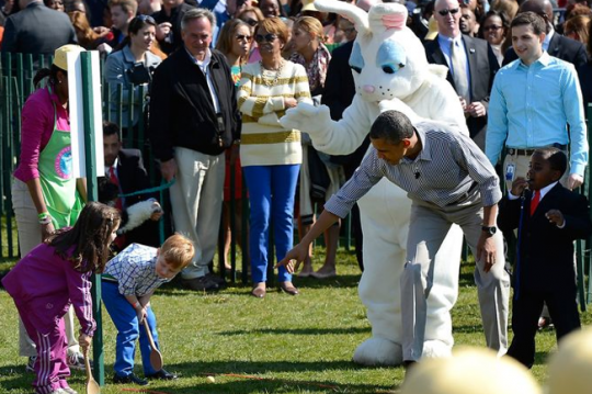 president barack obama-easter egg roll-the jasmine brand