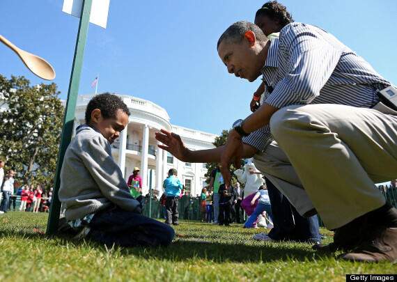 president obama-easter egg roll 2013-the jasmine brand