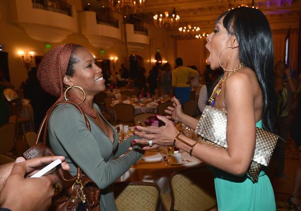 regina king-wendy raquel robinson-BET Networks Los Angeles Upfront 2013-the jasmine brand