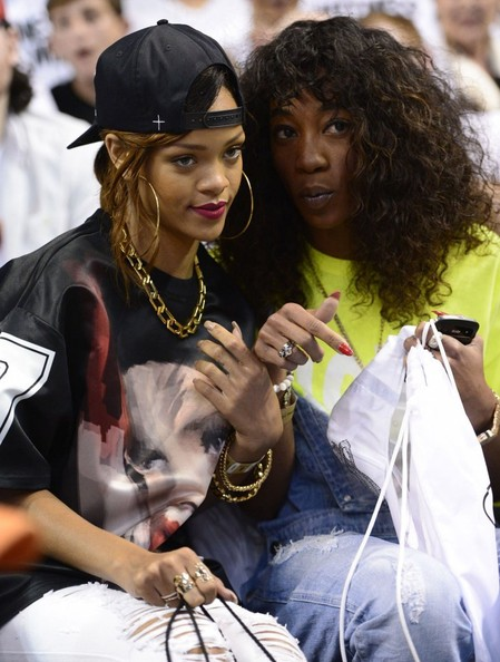 rihanna-bff melissa forde-heat game-the jasmine brand