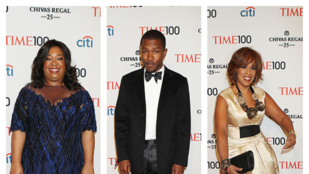 [Photos] Shonda Rhimes, Frank Ocean & Gayle King Take Over 'TIME 100'