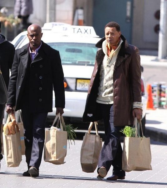 Taye Diggs, Terrence Howard Caught Filming 'The Best Man' Sequel
