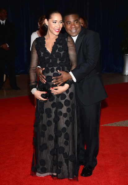 tracy morgan-fiance-2013 white house correspondents dinner-the jasmine brand