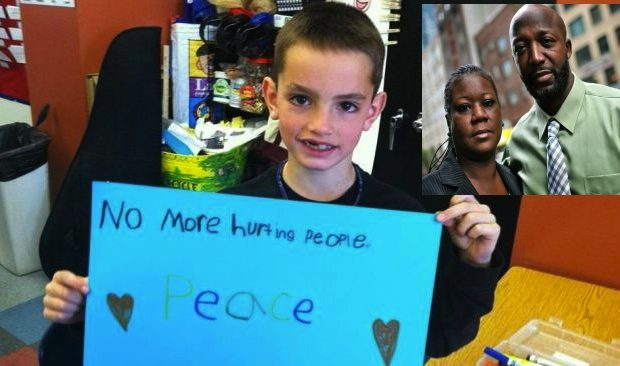 Trayvon Martin's Parents Pour Out Their Heart to Family of Martin Richard, 'Our Hearts Our Broken Over the Tragedy In Boston'