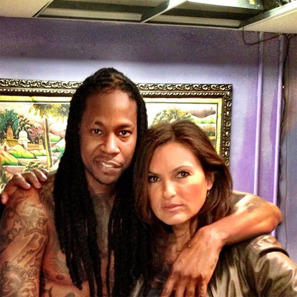 A Shirtless 2 Chainz Poses Chest Naked w/ Toy Guns for Upcoming 'Law & Order' Episode