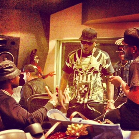 usher records new album-young jeezy-jermaine dupri-b-the jasmine brand