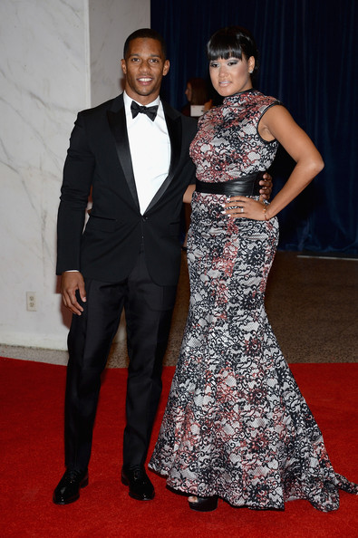 victor cruz-fiance-white house correspondents dinner-the jasmine brand