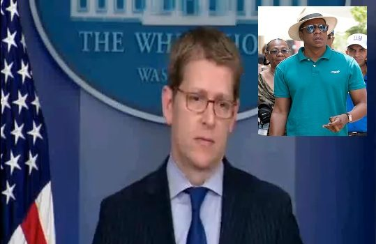 [VIDEO] White House Denies President Obama Spoke With Jay-Z About Cuba Trip