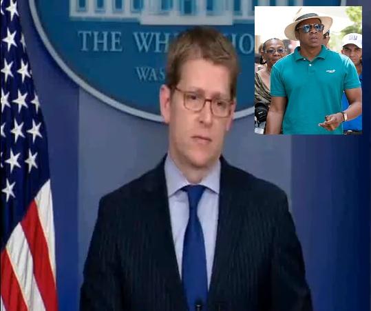 [VIDEO] White House Denies President Obama Spoke With Jay-Z About Cuba Trip