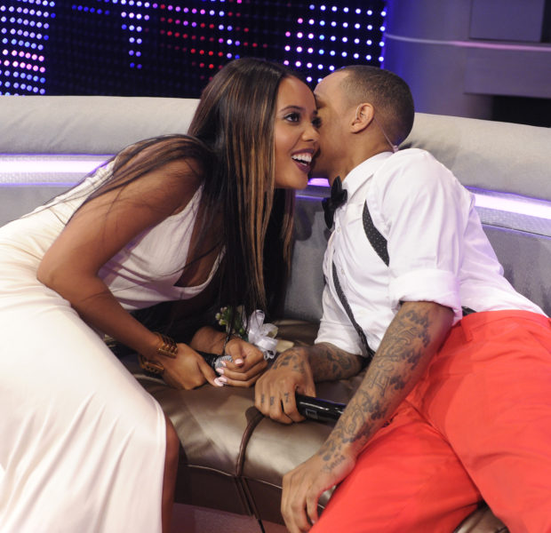 [Photos] Ex-Couple Angela Simmons & Bow Wow Reunite for '106 & Park' Prom