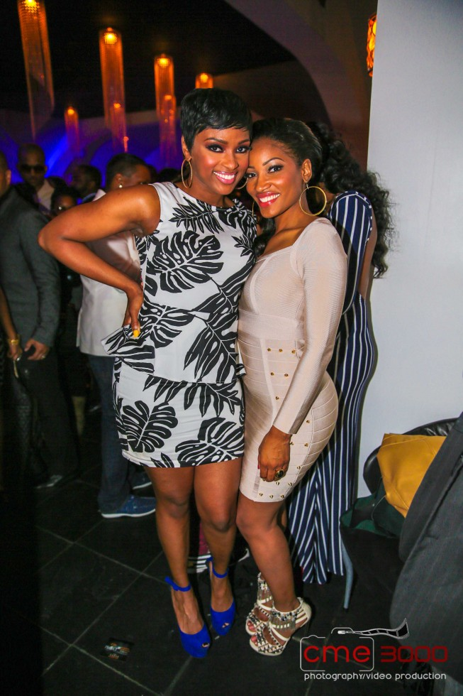 Ariane Davis-Erica Dixon-R&B Divas-season 2 premiere party-the jasmine brand