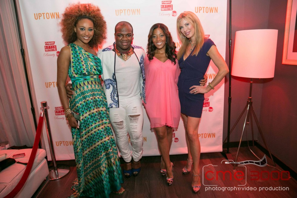 Cynthia Bailey-Derek-married to medicine-Toya Harris-Kerri Wells-COLGATE OPTIC WHITE BEAUTY-the jasmine brand
