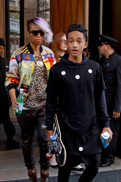 Spotted.Stalked.Scene: Jaden Smith Brings His Skateboard, Shemar Moore Promotes Attends Disney Upfronts + Cynthia Bailey's Daughter Is All Grown Up