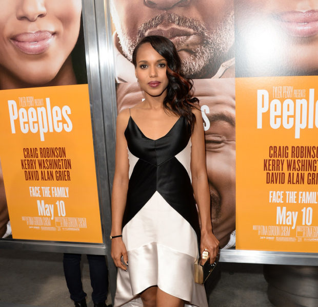 Kerry Washington, Tyler Perry, Craig Robinson + Other Celebs Attend The Premiere of 'The Peeples'