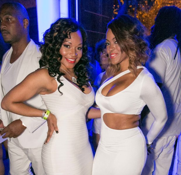 ALL-White-Everything: Porsha Stewart, Draya Michele, Marlo Hampton Party at ATL's 'PRIVE'